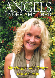 Angels under my Bed book cover picture
