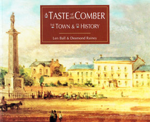 A Taste of Old Comber, The Town & its History book cover picture